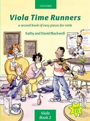 Blackwell: Viola Time Runners (book + CD)