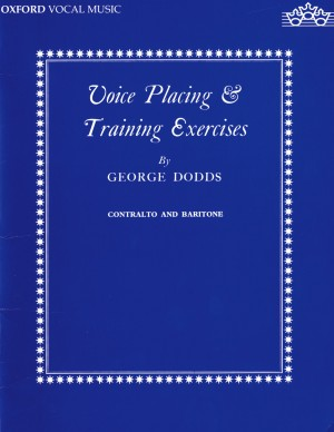 Dodds: Voice placing and training exercises
