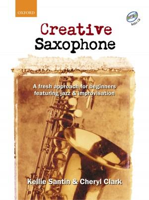 Santin: Creative Saxophone + CD