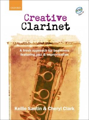 Santin: Creative Clarinet + CD