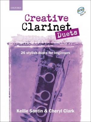 Santin: Creative Clarinet Duets + CD