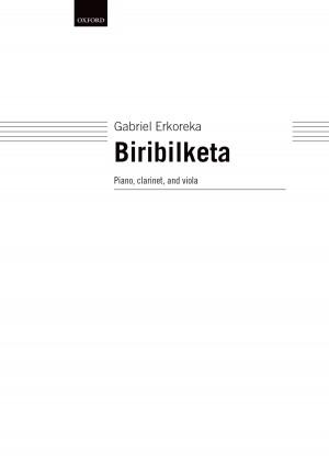 Erkoreka G: Biribilketa Cl/Vla/Piano