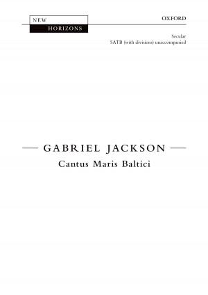 Jackson, Gabriel: Cantus Maris Baltici [NH81]