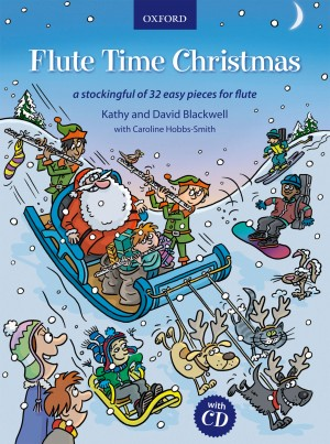 Blackwell: Flute Time Christmas + CD