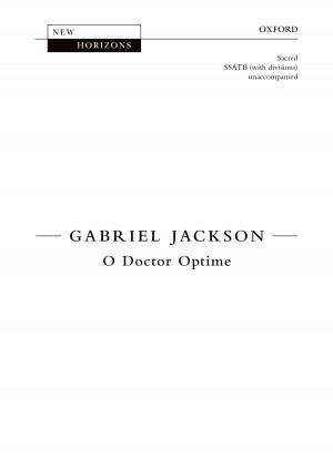 Jackson, Gabriel: O Doctor Optime [NH112]