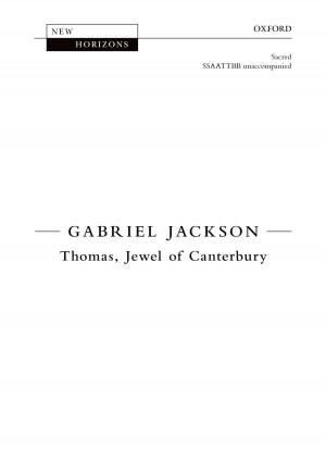 Jackson, Gabriel: Thomas Jewel of Canterbury [NH113]