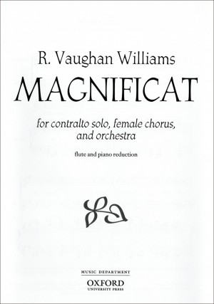 Vaughan Williams: Magnificat Product Image