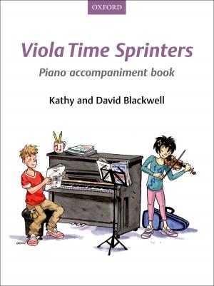 Blackwell: Viola Time Sprinters Piano Accompaniment Book