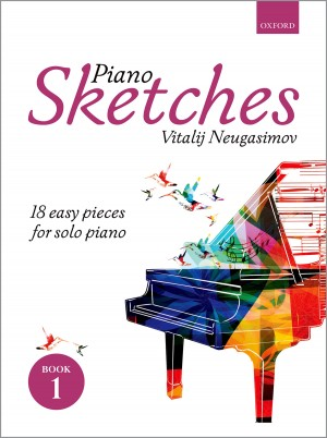 Neugasimov: Piano Sketches Book 1 Product Image