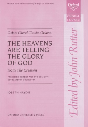 Haydn: The heavens are telling (from  The Creation)