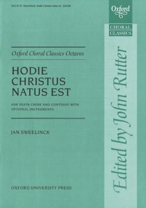 Sweelinck: Hodie Christus natus est