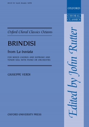 Verdi: Brindisi from  La traviata