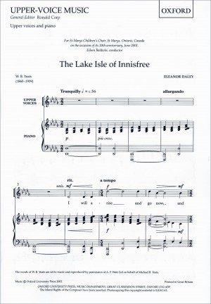 Daley: The Lake Isle of Innisfree