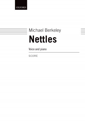 Berkeley M: Nettles Voice And Piano