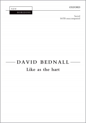 Bednall: Like as the hart