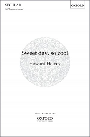 Helvey: Sweet day, so cool