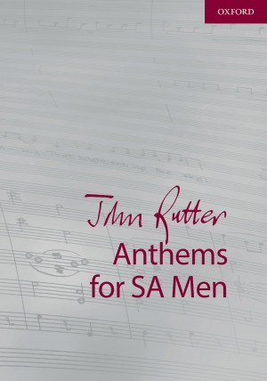 Rutter: John Rutter Anthems for SA and Men Product Image
