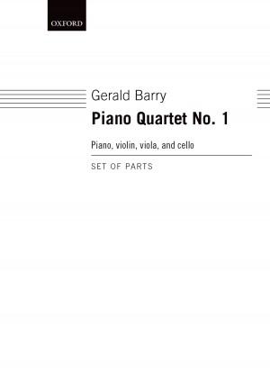 Barry G: Piano Quartet No.1 Parts