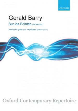 Barry G: Sur Les Pointes Gtr+Hpscd Performing Score