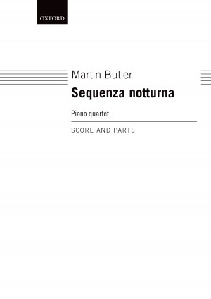 Butler M: Sequenza Notturna Score And Parts