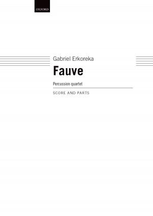 Erkoreka G: Fauve Perc.Quartet Score + Parts