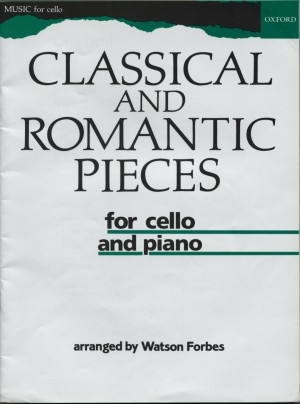 Forbes: Classical and Romantic Pieces for Cello