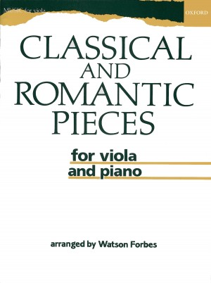 Forbes: Classical and Romantic Pieces for Viola