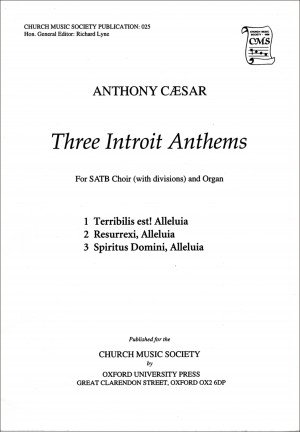 Caesar: Three Introit Anthems