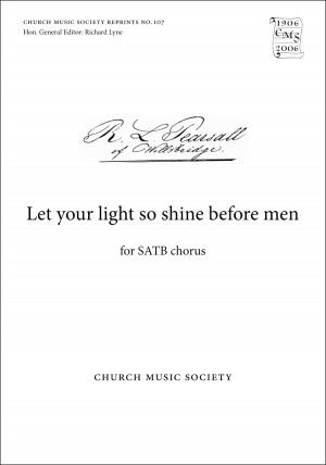 Pearsall: Let your light so shine before men