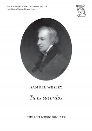 Wesley: Tu es sacerdos