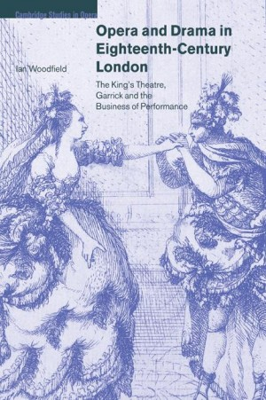 Opera and Drama in Eighteenth-Century London