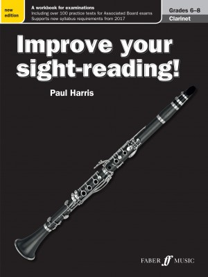 Improve your sight-reading! Clarinet Grades 6-8 Product Image
