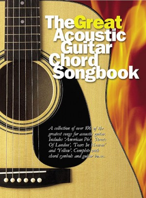 The Great Acoustic Guitar Chord Songbook | Presto Sheet Music