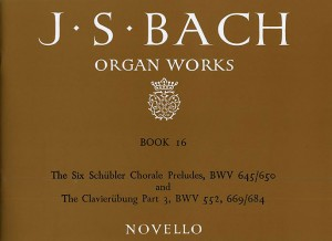 Johann Sebastian Bach: Organ Works Book 16