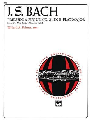 Johann Sebastian Bach: Prelude and Fugue No. 21 in B-Flat Major