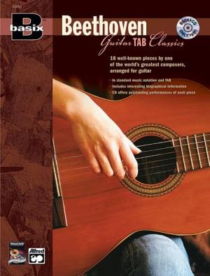 Ludwig van Beethoven: Basix Guitar TAB Classics: Beethoven