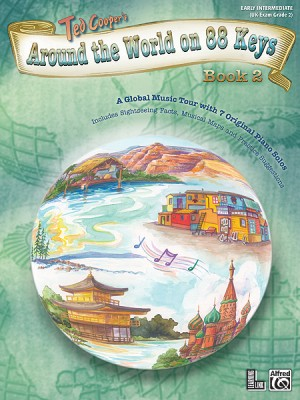 Ted Cooper: Around the World on 88 Keys, Book 2