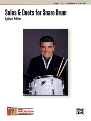 Louie Bellson: Solos & Duets for Snare Drum