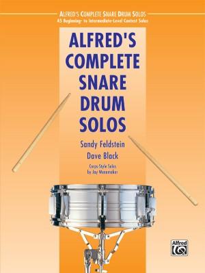 Dave Black/Jay Wanamaker/Sandy Feldstein: Alfred's Complete Snare Drum Solos