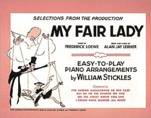 My Fair Lady Selection (easy piano)