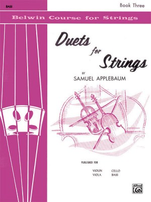 Samuel Applebaum: Duets for Strings Book 3