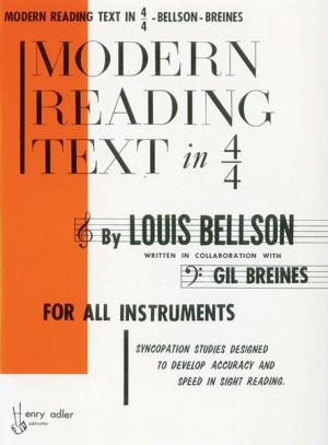 Gil Breines_Louis Bellson: Modern Reading Text In 4/4