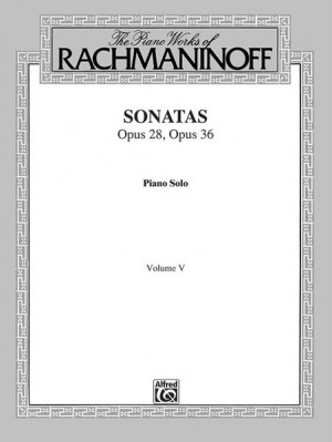 The Piano Works of Rachmaninoff, Volume V: Sonatas, Op. 28, Op. 36 Product Image