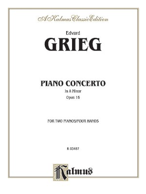 Piano Concerto No 2 Op 16 Kalmus Edition