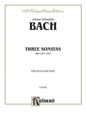 Johann Sebastian Bach: Three Sonatas for Viola da Gamba, BWV 1027-29