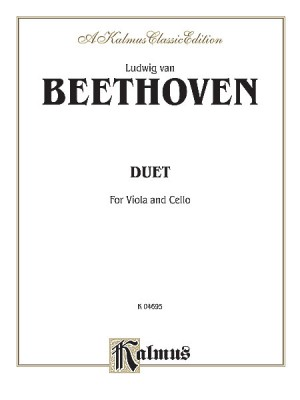 Ludwig Van Beethoven: Duet for Viola and Cello