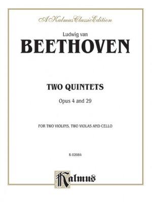 Ludwig Van Beethoven: Two Quintets, Op. 4 and Op. 29