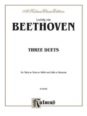 Ludwig Van Beethoven: Three Duets
