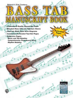 Aaron Stang: 21st Century Bass TAB Manuscript Book