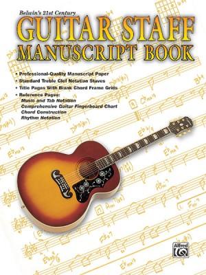 21st Century Guitar Staff Manuscript Book
